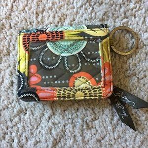 Vera Bradley Flower Shower ID/card holder
